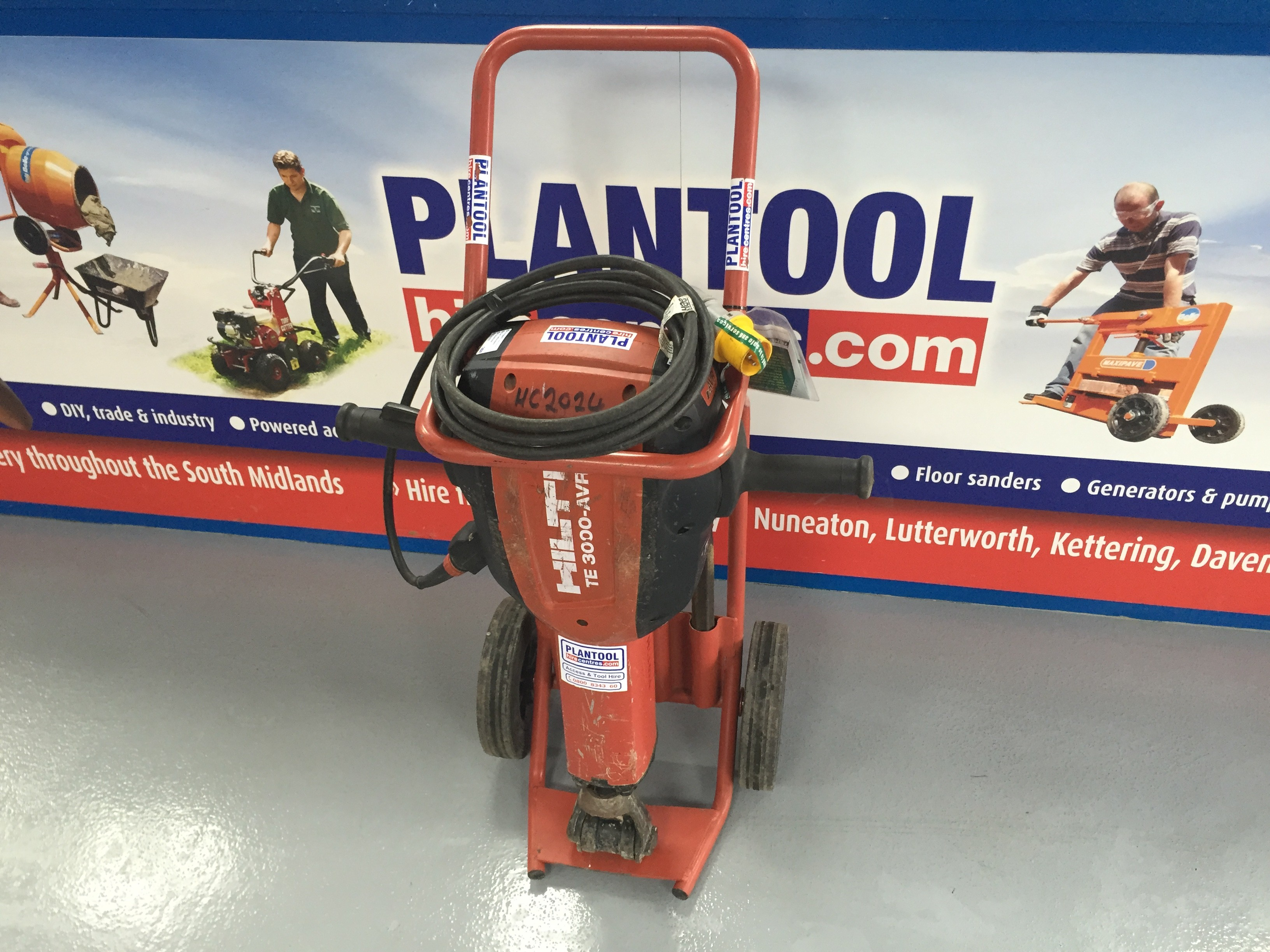 Strongboy wall support prop for hire best at hire - Breaker Electric Road Hilti Te3000avr At Plantool Hire Centres