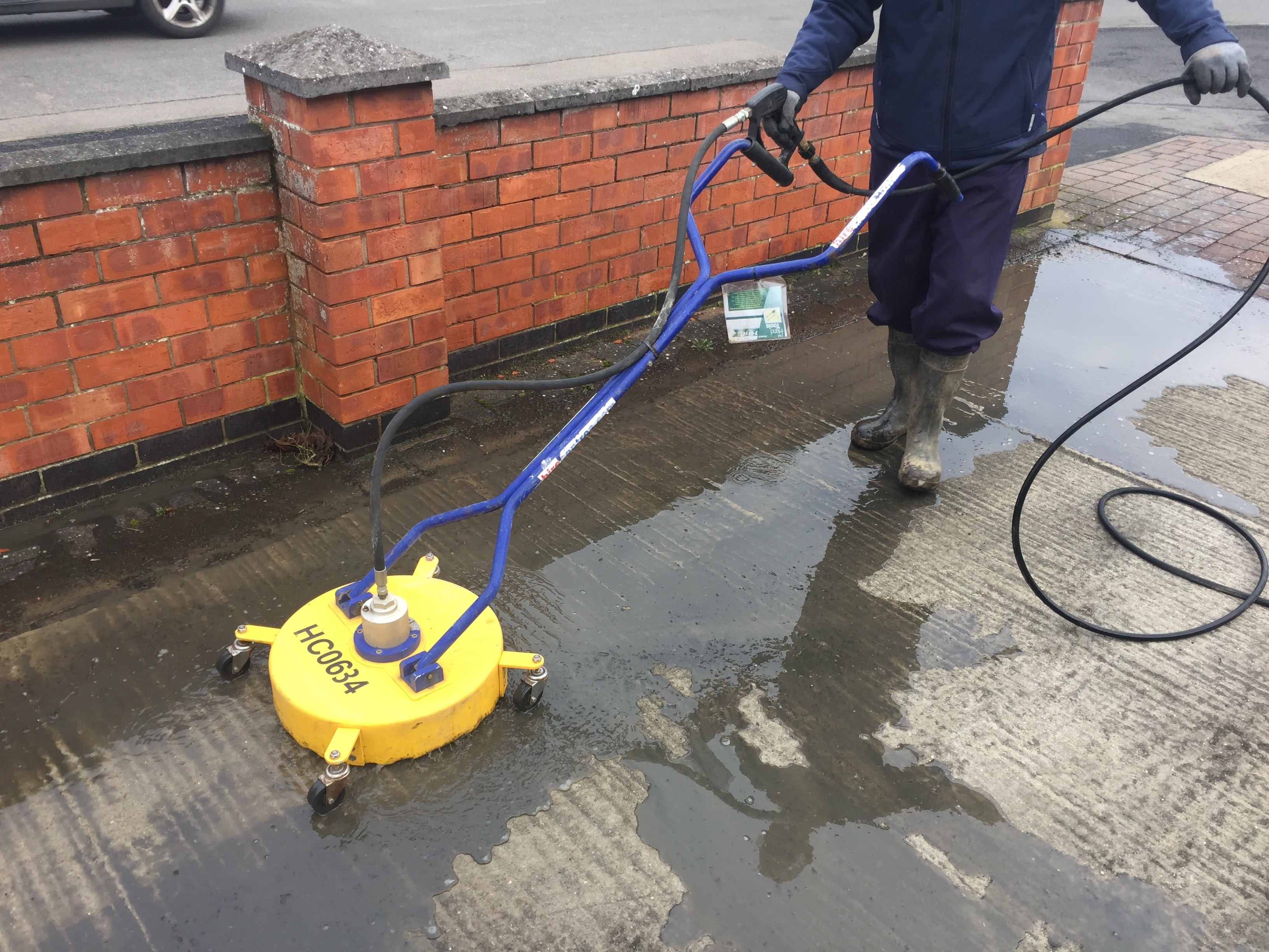Pressure Washer Roto Jet Patio Cleaner