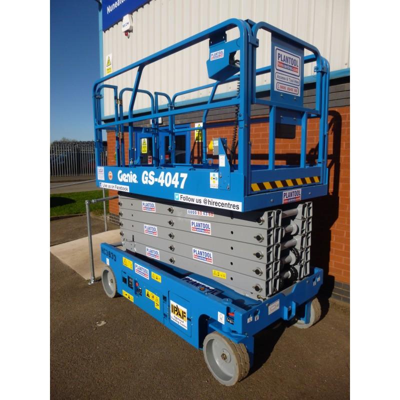 Scissor Lift - Genie 4047 11 89m (39ft) Platform | Plantool
