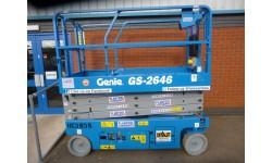Scissor Lift - Genie 2646 7.9m (26ft) Platform
