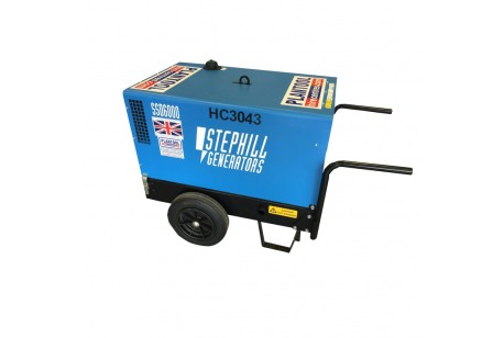 Generator - 6.0Kva/ 4.8kw Low Noise - Diesel at Plantool Hire Centres