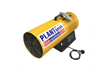 Heater - Propane Blower 76kw (260,000 btu) at Plantool Hire Centres