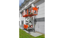 Scissor Lift Rough Terrain Diesel - S2755RT 8.1m (27ft) Platform