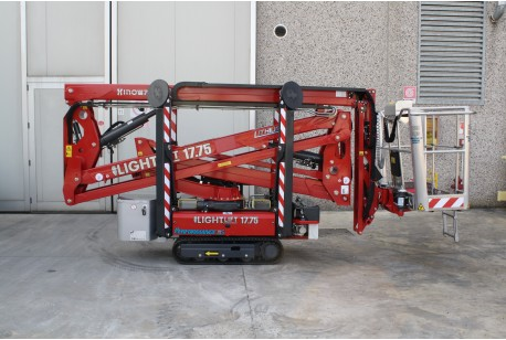 Hinowa Lightlift 17:75 Tracked Spider Lift