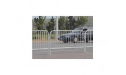 Fencing - Steel Pedestrian Barrier 2.3m Section