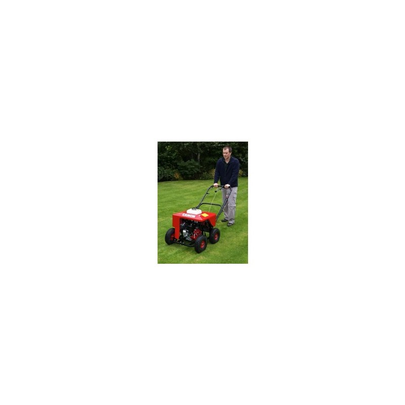 Lawn Aerator Plugger Petrol Powered Plantool Hire Centres