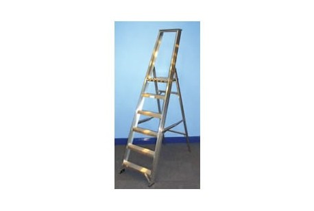 Step Ladder - 10 Tread, Platform 8ft