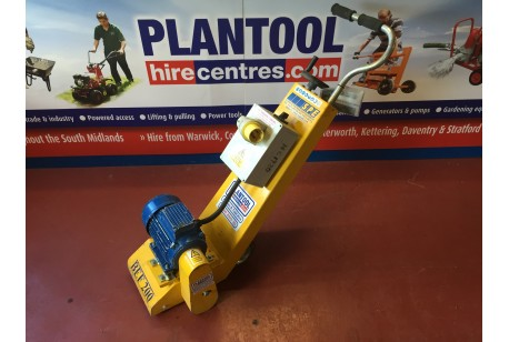 Floor Planer/ Scabbler - 110v at Plantool Hire Centres