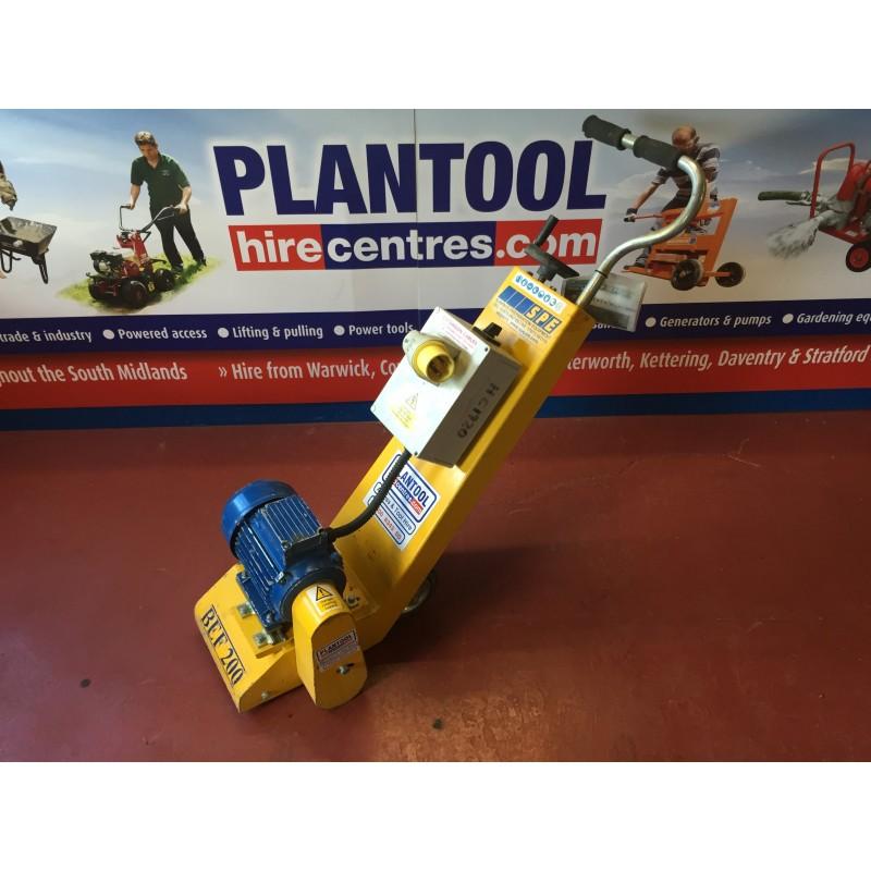 Floor Planer Scabbler 110v Plantool Hire Centres