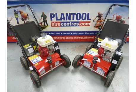 Lawn Scarifier - Petrol at Plantool Hire Centres