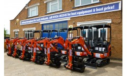 Excavator - 1.5 Tonne Mini at Plantool Hire Centres
