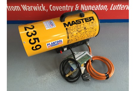 Heater - Propane Blower 15kw (51,000,btu) at Plantool Hire Centres
