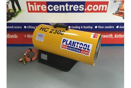 Heater - Propane Blower 44kw (150,000btu) at Plantool Hire Centres