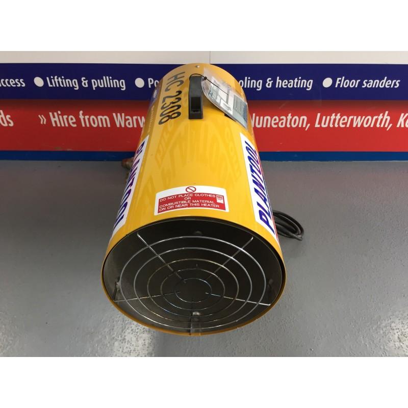 Propane Powered Blower : Heater propane blower kw btu plantool hire