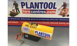 Heater - Propane Blower 76kw (260,000 btu) at Plantool Hire Centres
