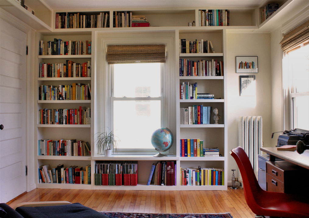 How To Build An In Built Bookcase