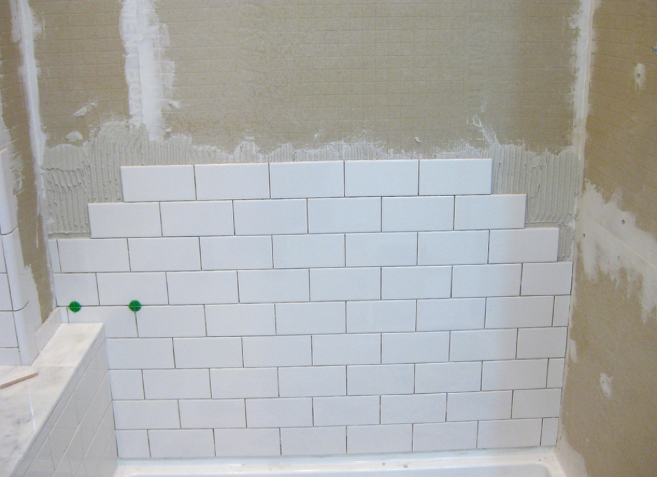 How To Achieve A Professional Finish When Tiling Bathroom Related Tile