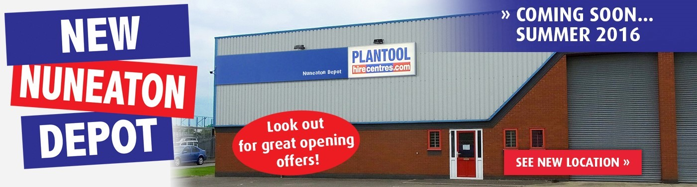 Our Nuneaton Depot is Moving