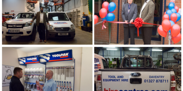 The Grand Opening: Plantool Hirecentres Daventry Depot