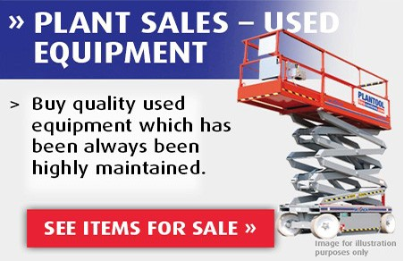 Plant Sales - Used Equipment