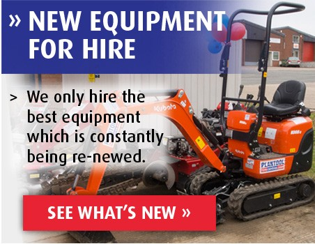 New Equipment For Hire
