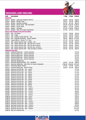 Price List 2016